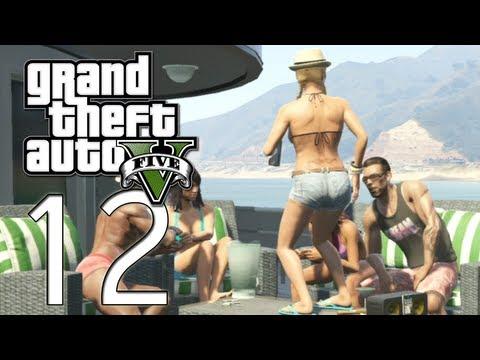Grand Theft Auto V - E12 - Pornstar Poser Daughter (GTAV) (видео)