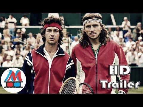 BORG VS. MCENROE Official Red Band HD Trailer (2017) Shia LaBeouf Wimbledon Movie HD