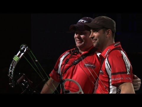 compound - Uncut match from the 2013 Indoor Archery World Cup in Nîmes (FRA). Compound Men Gold Medal Match - WILDE R. (USA) vs DELOCHE P.J. (FRA) All Results : http://...