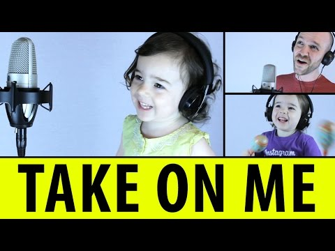 Dad and 3YearOld Daughter Sing Aha s Take On