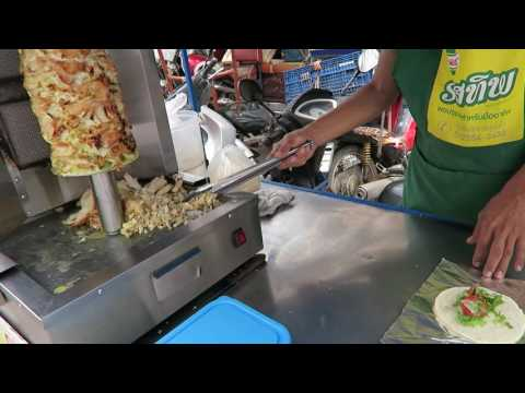 How to drown a chicken kebab in thailand