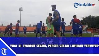 Video Persib Bandung Latihan Tertutup di Stadion Segiri, Jelang Laga Borneo FC vs Persib Bandung MP3, 3GP, MP4, WEBM, AVI, FLV April 2019