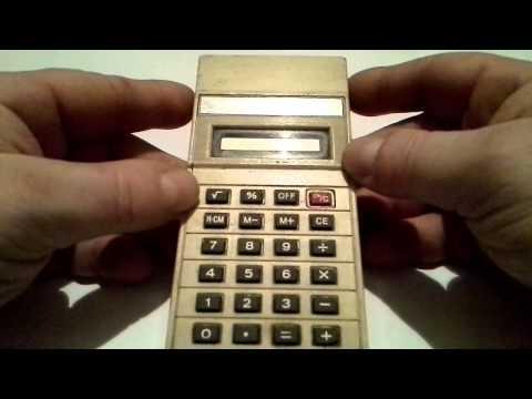 Kalkulator z 1981 r.