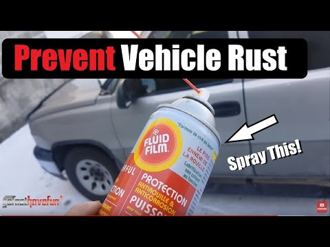 How to Prevent Rust from forming on Your Vehicle
