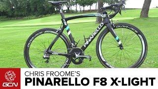 Video Chris Froome's New Ultralight Pinarello F8 Climbing Bike | Tour De France 2016 MP3, 3GP, MP4, WEBM, AVI, FLV Mei 2017