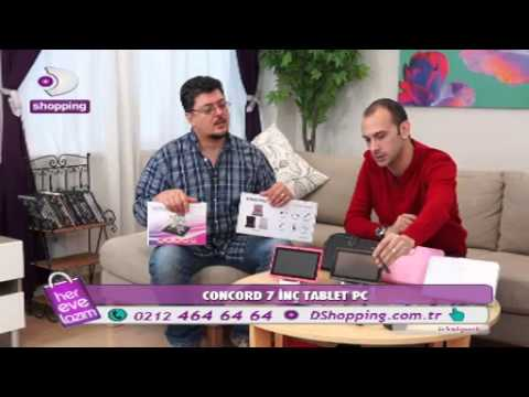 DSHOPPING CONCORD 7 İNÇ TABLET PC
