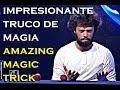 Impresionante Truco de Magia de Yann Frisch ( Nuevo Campeon Mundial de Magia )