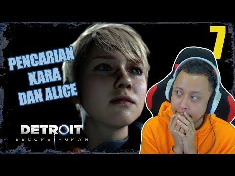 PENCARIAN KARA DAN ALICE!! - Detroit Become Human Indonesia 7