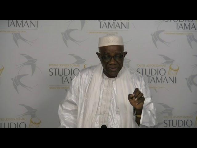 Grand Dialogue Daba DIAWARA je veux ramener la paix et la securité au Mali