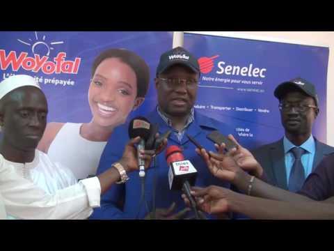 (Vidéo) Opération nationale de lancement du Woyofal Social. Le DG de la Senelec Mouhamadou Makhtar Cisse à Thies