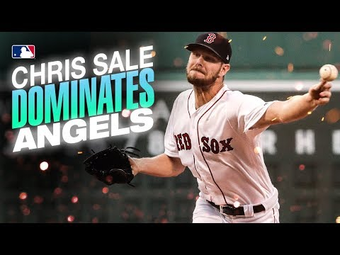 Video: Red Sox ace Chris Sale dominates Angels