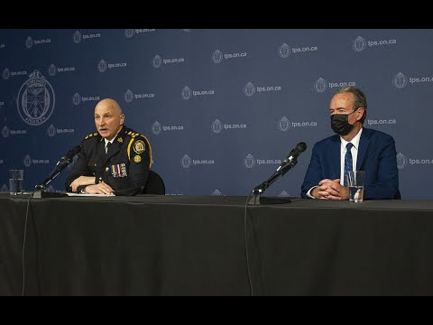 TPSB Chair Jim Hart & Toronto Police Chief James Ramer News Conference  | Tues April 13/21 | 3:15pm
