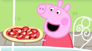 Peppa Pig en Español completos 🍕 La Comida ⭐️Compilación de 2019 ⭐️ Pepa la cerdita