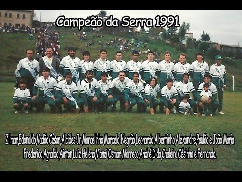 Clube 16 de Julho Juventude - Campeão da Serra 1991