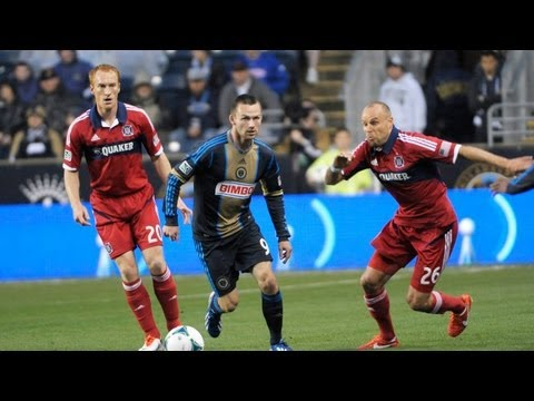 HIGHLIGHTS: Philadelphia Union vs. Chicago Fire | May 18, 2013_Soccer, MLS. MLS's best of the week
