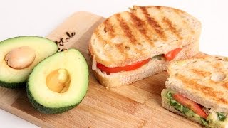 Homemade Guacamole Panini Recipe - Laura Vitale - Laura in the Kitchen Episode - YouTube