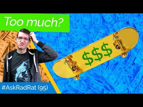 How Much is too Much to Spend on Your Board? #AskRadRat 95 (видео)