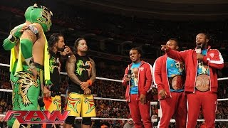 Video The New Day extends an olive branch: Raw, December 14, 2015 MP3, 3GP, MP4, WEBM, AVI, FLV Juni 2019