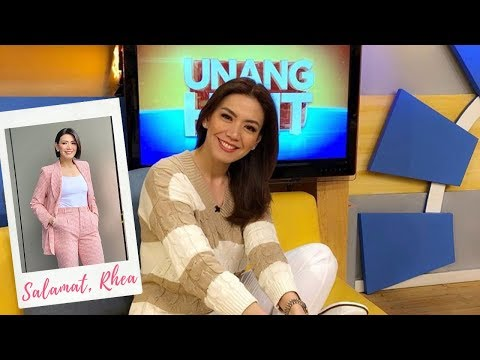 rhea santos - Happy birthday to one of the most beautiful newscaster/broadcaster who ever graced Philippine TV, Ms. Rhea Santos. Unang Hirit also celebrates with her - ano...