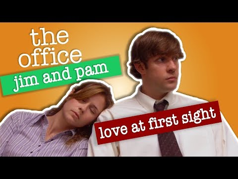 Jim and Pam: Love At First Sight  - The Office US (видео)