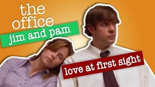 Video Jim and Pam: Love At First Sight  - The Office US MP3, 3GP, MP4, WEBM, AVI, FLV Oktober 2018