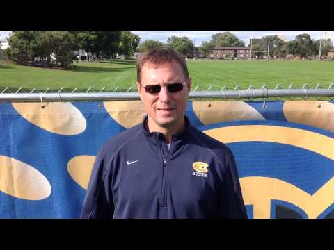 Women's Soccer - UW-Eau Claire vs. Gustavus Adolphus, MN - Coach Yengo Post-Game
