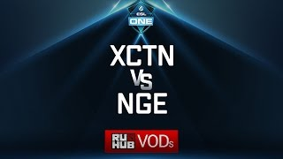 Execration vs NGE, ESL One Genting Quals, game 2 [GodHunt, Smile]