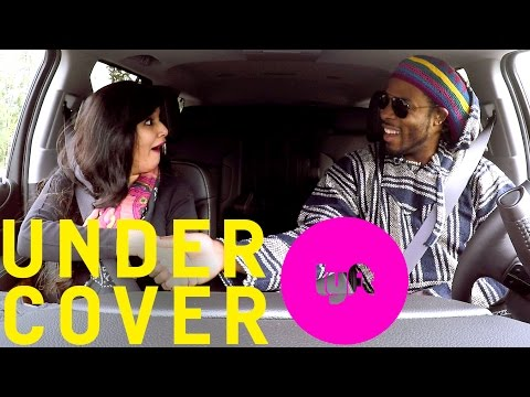Richard Sherman steps off the field and in to the drivers seat of a LYFT?!