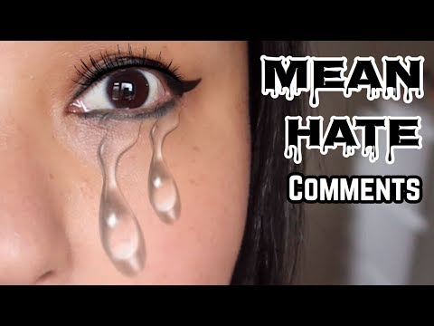 (READING MEAN COMMENTS ABOUT FAT SHAMING .... 10 minutes.)
