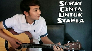 Video (Virgoun) Surat Cinta Untuk Starla - Nathan Fingerstyle | Guitar Cover MP3, 3GP, MP4, WEBM, AVI, FLV November 2017
