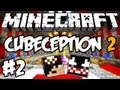 Minecraft: Cubeception 2 ft VenomExtreme - Deixando o Venom vencer no Parkour! ;_; #2