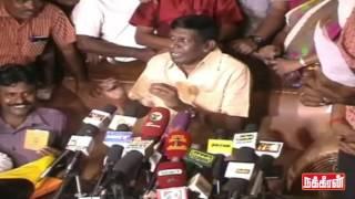 Nadigar Sangam Election – Vadivelu press meet at Madurai Kollywood News 09/10/2015 Tamil Cinema Online