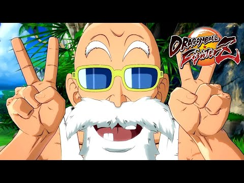 Dragon Ball FighterZ - MASTER ROSHI Announce Trailer @ ᴴᴰ (60ᶠᵖˢ) ✔