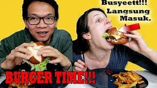 Video Masuk Pak EKO  Makanan Tidak Sehat BURGER TIME!! MP3, 3GP, MP4, WEBM, AVI, FLV Februari 2019