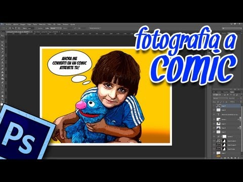 Tutorial Photoshop CS6: efecto foto a comic by @ildefonsosegura