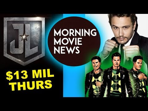 Justice League Thursday Box Office, James Franco is Multiple Man for Fox (видео)