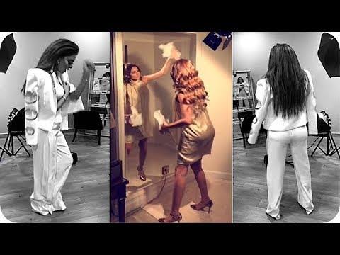 العرب اليوم - شاهد: مريم حسين تثير الجدل بهذه الرقصة العجيبة!