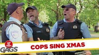 Cops Sing Xmas Prank