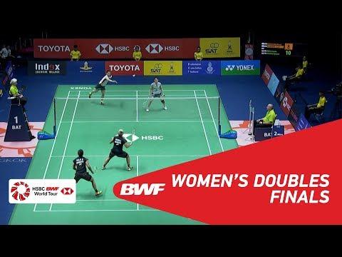 WD   MATSUTOMO/TAKAHASHI (JPN) [3] vs POLII/RAHAYU (INA) [4]   BWF 2018