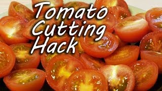 How To Cut Tomatoes Like A Ninja!