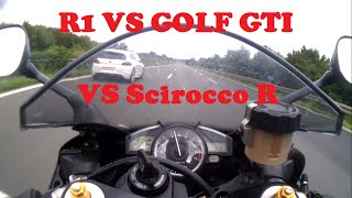 driving with 2 fast vw carslike and share to keep the video alive