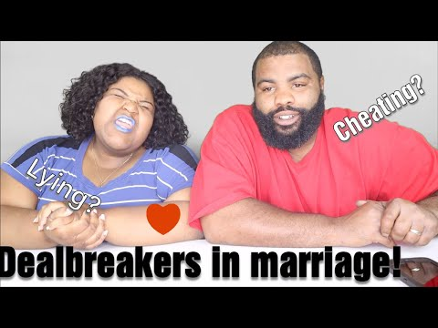 DEALBREAKERS IN RELATIONSHIPS- IF THEY CHEAT?