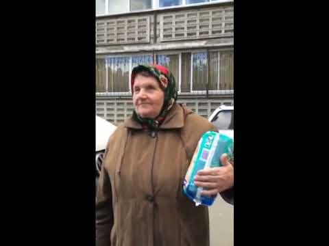 Бабка рассказывает сказки (видео)