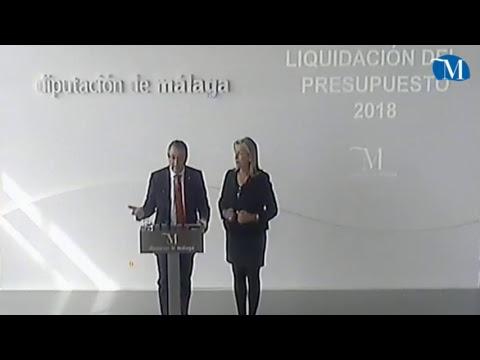 Balance de la liquidación del presupuesto de la Diputación de 2018