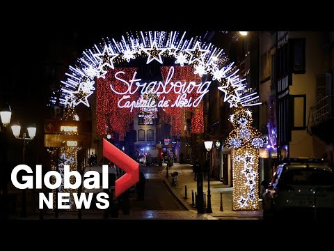 LIVE: Shooting near Strasbourg Christmas Market