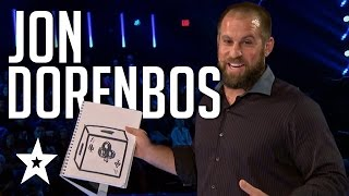Video Jon Dorenbos Auditions & Performances America's Got Talent 2016 Finalists MP3, 3GP, MP4, WEBM, AVI, FLV Agustus 2018