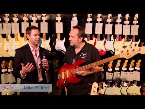 Custom (musician) - Harmony Central talks with Fender during the 2014 NAMM Show to discuss the Musician's Friends exclusive Jason Smith Master Built Jazz Bass. Filmed at the 201...