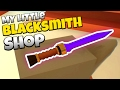 The Mithril Blade! - Let's Play My Little Blacksmith Shop Gameplay