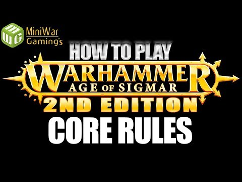 Core Rules - How To Play Age Of Sigmar 2nd Edition Ep 1