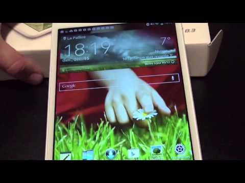 Test de la LG G Pad 8.3 : une tablette absolument fantastique si  vous avez de l'argent
